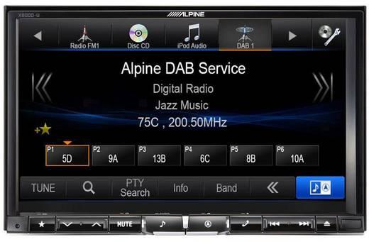 moniceiver alpine car audio x800d u anschluss f r. Black Bedroom Furniture Sets. Home Design Ideas