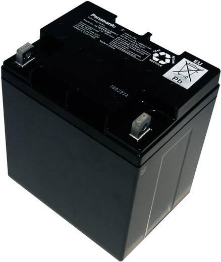 Bleiakku 12 V 28 Ah Panasonic 12 V 28 Ah LC-XC1228P Blei-Vlies (AGM) (B x H x T) 165 x 175 x 125 mm M5-Schraubanschluss Wartungsfrei, Zyklenfest