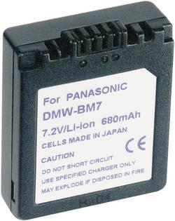 Akumulátor do kamery Conrad energy 250974 250974, 600 mAh