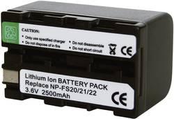 Batterie pour appareil photo Conrad energy 250989 3.6 V 2200 mAh