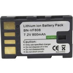 Náhradné batérie pre kamery Conrad Energy BN-VF808, 7,2 V, 650 mAh