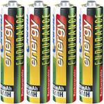 Micro (AAA)-Akku NiMH Conrad energy Endurance HR03 800 mAh 1.2 V 4 St.