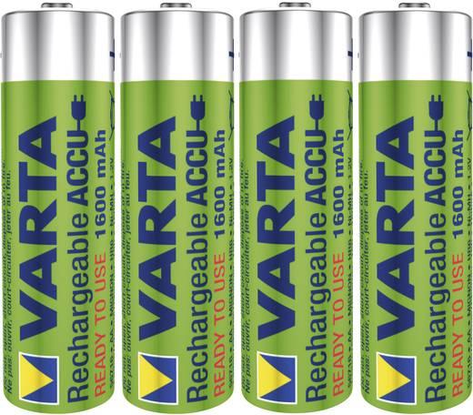 Mignon (AA)-Akku NiMH Varta Ready2Use HR06 1600 mAh 1.2 V 4 St.