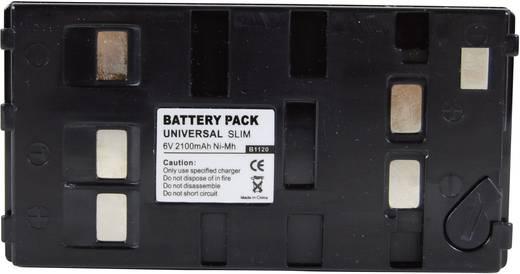 Kamera-Akku Conrad energy ersetzt Original-Akku Uni-Pan 6 V 1800 mAh