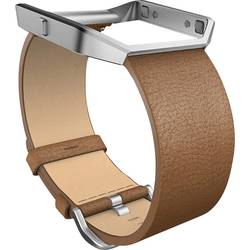 Image of FitBit Blaze Leather Band Large Came Ersatzarmband Größe=L Camel