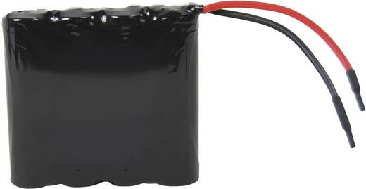 Akkupack 4x 18650 Kabel Li-Ion Samsung ICR18650 4er 14.8 V 2600 mAh