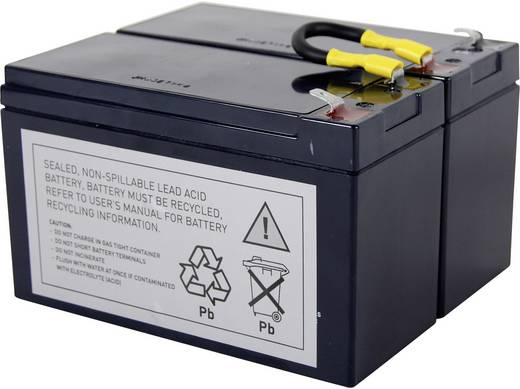 USV-Anlagen-Akku Conrad energy ersetzt Original-Akku RBC5 Passend für SU450I, SU450INET, SU700INET, SU700I, SU700IBX120,