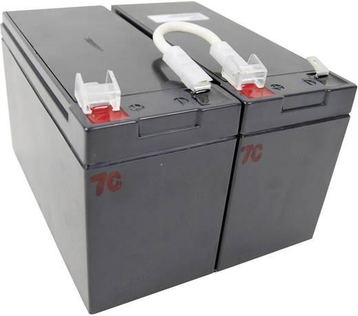 USV-Anlagen-Akku Conrad energy ersetzt Original-Akku RBC5 Passend für Modell SU450I, SU450INET, SU700INET, SU700I, SU700