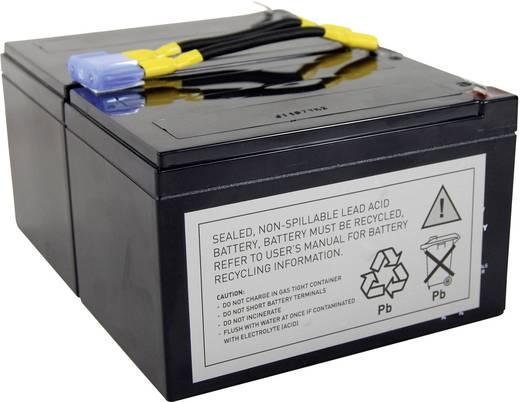 USV-Anlagen-Akku Conrad energy ersetzt Original-Akku RBC6 Passend für Modell APC10IA, BP1000, BP1100, DLA1500J, NECA1000