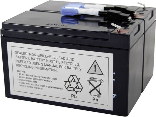 USV-Anlagen-Akku Conrad energy ersetzt Original-Akku RBC9 Passend für SU700RMINET, SU700RMI