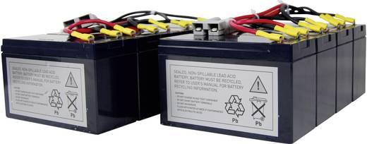 USV-Anlagen-Akku Conrad energy ersetzt Original-Akku RBC12 Passend für DL5000RMI5U, DL5000RMT5U, SU2200R3BX120, SU2200R3