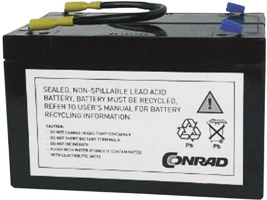 USV-Anlagen-Akku Conrad energy ersetzt Original-Akku RBC3 Passend für Modell BK450, BK600, BK600C, BK640MC, PCNET, BK600