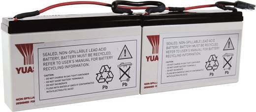 USV-Anlagen-Akku Conrad energy ersetzt Original-Akku RBC18 Passend für Modell PS250, PS450, PS450J, SC25ORM1U, SC450R1X5