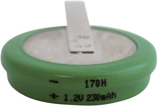 Knopfzellen-Akku 170H NiMH Emmerich 170 H, ZLF 230 mAh 1.2 V 1 St.