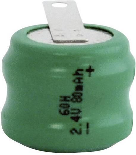 Knopfzellen-Akku 60H NiMH Emmerich 60 H, ZLF 80 mAh 2.4 V 1 St.