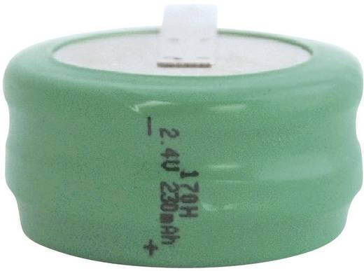 Knopfzellen-Akku 170H NiMH Emmerich 170 H, ZLF 230 mAh 2.4 V 1 St.