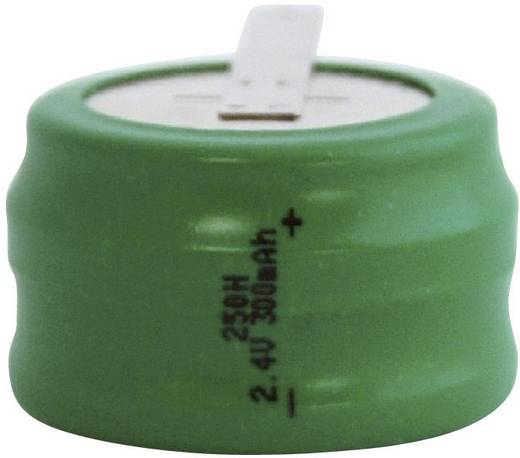 Knopfzellen-Akku 250H NiMH Emmerich 250 H, ZLF 300 mAh 2.4 V 1 St.