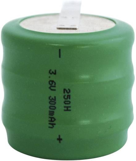 Knopfzellen-Akku 250H NiMH Emmerich 250 H, ZLF 300 mAh 3.6 V 1 St.
