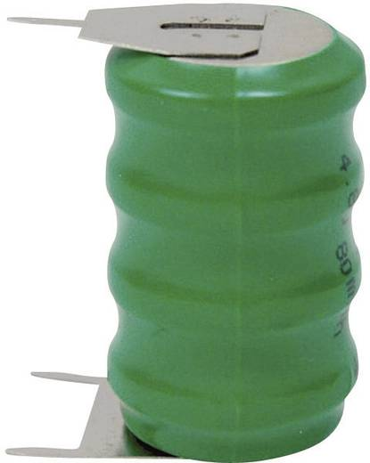 Knopfzellen-Akku 60H NiMH Emmerich 60 H, SLF 80 mAh 4.8 V 1 St.