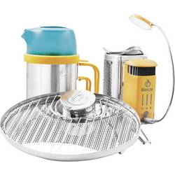 Image of BioLite Camping Kocher Campstove 2 Family Bundle Kocher Pot Grill und LED-Leuchte