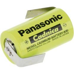 Špeciálny akumulátor Panasonic Sub-C ZLF, Sub-C, spájkovacia špička v tvare Z, Ni-Cd, 1.2 V, 1700 mAh