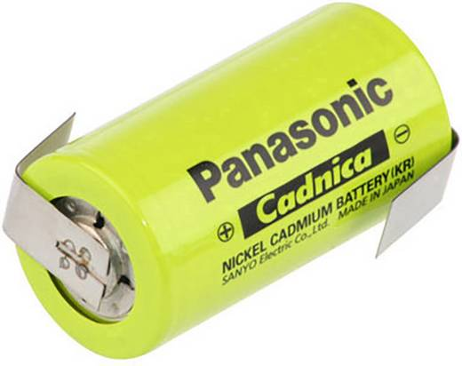 Panasonic C ZLF Spezial-Akku Baby (C) Z-Lötfahne, hochtemperaturfähig NiCd 1.2 V 2500 mAh