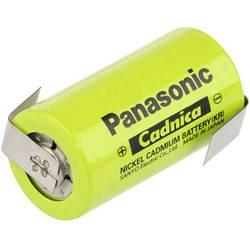 Špeciálny akumulátor Panasonic C ZLF, baby (C), spájkovacia špička v tvare Z, odolné voči vysokým teplotám, Ni-Cd, 1.2 V, 2500 mAh