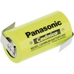 Špeciálny akumulátor Panasonic C ZLF, baby (C), spájkovacia špička v tvare Z, Ni-Cd, 1.2 V, 3000 mAh