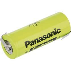 Špeciálny akumulátor Panasonic 3/2 D ZLF, F, spájkovacia špička v tvare Z, Ni-Cd, 1.2 V, 7000 mAh