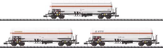 MiniTrix T15302 N 3er-Set Gaskesselwagen der SNCF