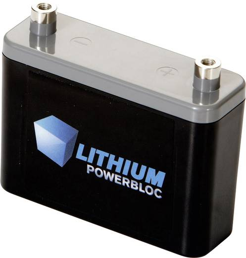 Lithium Powerbloc BMZ Spezial-Akku Powerbloc Innengewinde LiFePO 4 13.2 V 2500 mAh
