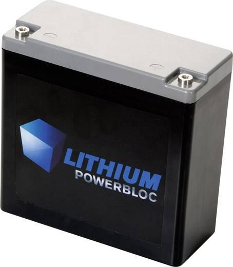 Spezial-Akku Powerbloc Innengewinde LiFePO 4 Lithium Powerbloc BMZ 13.2 V 18000 mAh