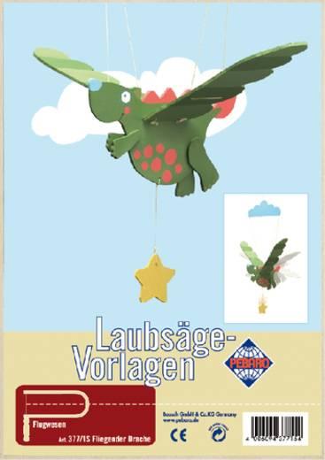 Laubsägevorlage mit Motiv Fliegender Drache