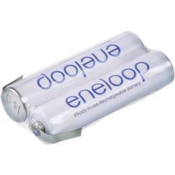 Akupack - sada nabíjacích batérií Ni-MH 2 micro (AAA) spájkovacia špička v tvare Z Panasonic eneloop Reihe F1x2 133606, 750 mAh, 2.4 V