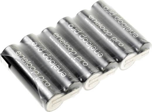 Akkupack 6x Mignon (AA) Z-Lötfahne NiMH Panasonic eneloop Pro Reihe F1x6 7.2 V 2450 mAh