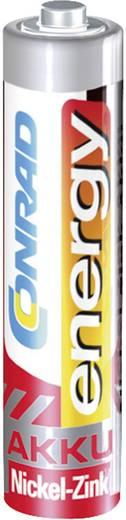 Micro (AAA)-Akku NiZn Conrad energy HR03 550 mAh 1.6 V 4 St.