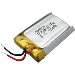 Akumulátor Li-Pol Renata, 3,7 V, 120 mAh, ICP651321PA