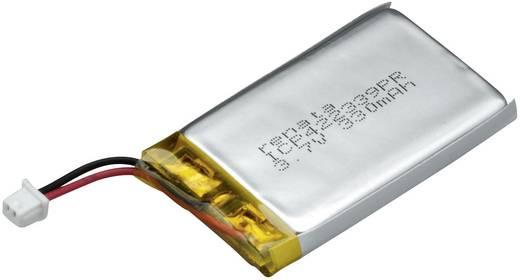 Spezial-Akku Prismatisch Stecker LiPo Renata ICP422339PR 3.7 V 340 mAh
