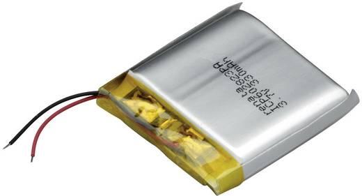 Renata ICP602823PA Spezial-Akku Prismatisch Kabel LiPo 3.7 V 350 mAh
