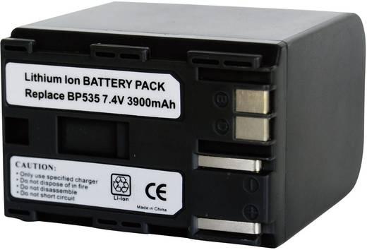 Kamera-Akku Conrad energy ersetzt Original-Akku BP-535 7.4 V 3900 mAh 252083