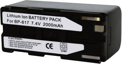 Conrad energy 252086 Kamera-Akku ersetzt Original-Akku BP-617 7.4 V 1850 mAh