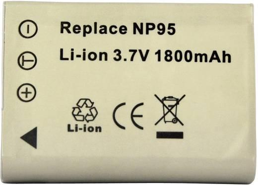 Kamera-Akku Conrad energy ersetzt Original-Akku NP-95 3.7 V 1500 mAh 252090