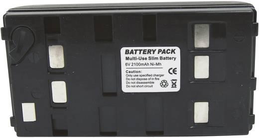 Kamera-Akku Conrad energy ersetzt Original-Akku BN-V12U 6 V 1800 mAh 252098