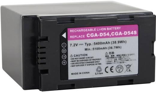 Kamera-Akku Conrad energy ersetzt Original-Akku CGR-D54 7.2 V 4800 mAh 252109