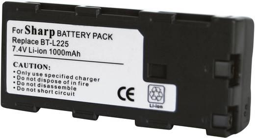 Kamera-Akku Conrad energy ersetzt Original-Akku BT-L225 7.2 V 900 mAh