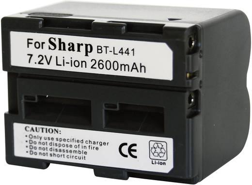 Kamera-Akku Conrad energy ersetzt Original-Akku BT-L441 7.2 V 2600 mAh