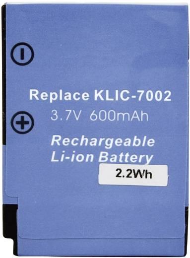 Kamera-Akku Conrad energy ersetzt Original-Akku KLIC-7002 3.7 V 450 mAh