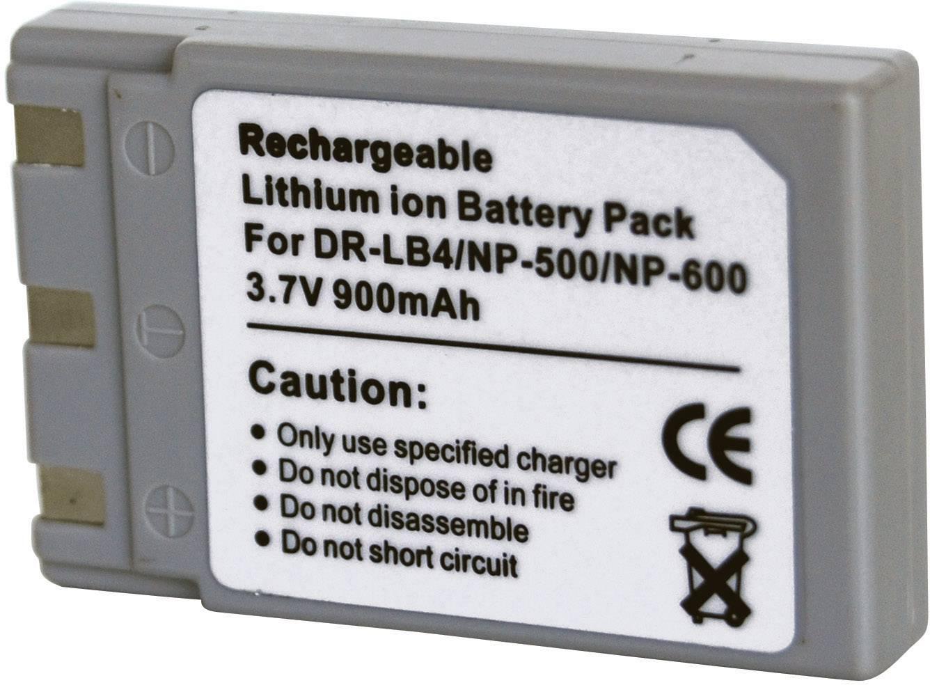 Hama liion Battery Pack 3,7 v//850 mAh para konica minolta dr-lb4