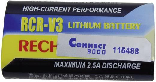 Kamera-Akku Conrad energy ersetzt Original-Akku RCR-V3 3 V 1100 mAh 252161