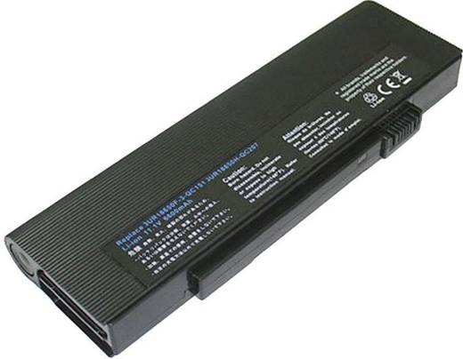 Notebook-Akku Beltrona ersetzt Original-Akku 3UR18650F-3-QC151, 3UR18650F-2-QC134, 916-3060, 916C3060, LC.BTP03.005, LC.